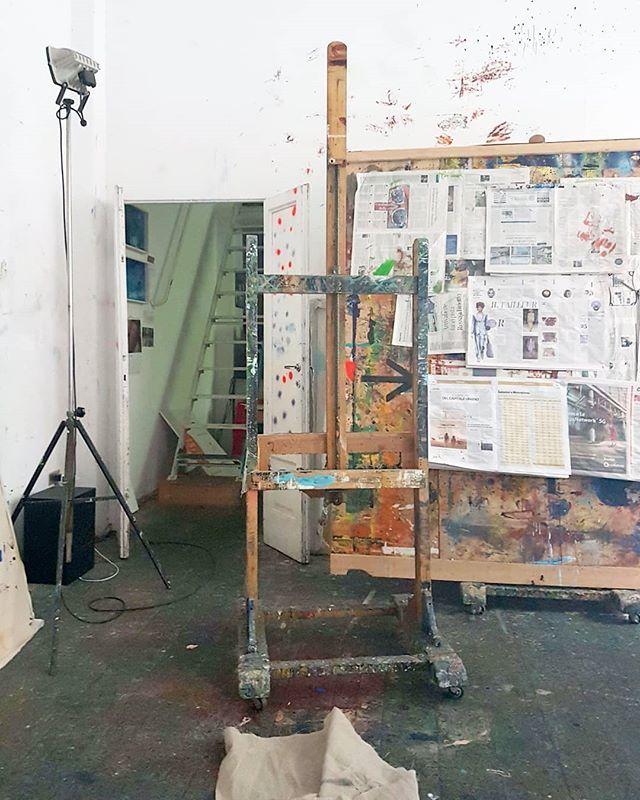 #StudioVisit #ArtistStudio #PainterStudio #CuratorLife #painting #ConteporaryoraryArt https://t.co/4VqEi434px
