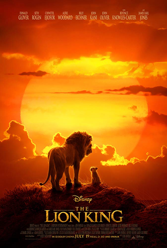 speechless. i don't know how should i rate this live action. or maybe 1000 out of 10? at the beginning you'll feel like you watch national geographic channel, lmao.   simba is cute nala is cute mufasa is cool sarabi mom funny timon and pumbaa (srsly) scar is sucks. <br>http://pic.twitter.com/fN1LQEtkUY