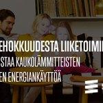Image for the Tweet beginning: Uusi @EnergiaHelen palvelu mittaa kaukolämmitettyjen