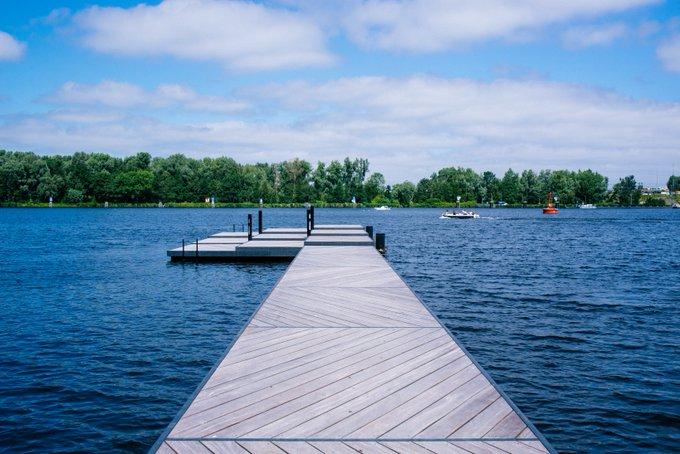 Vanmiddag wordt Amsterdecks in gebruik genomen! Een vlonder met sensoren die realtime waterkwaliteit in beeld brengt.   Nu meet Amsterdecks de waterkwaliteit bij De Nieuwe Meer (Amsterdamse Bos), straks wellicht op een andere plek!   https://t.co/1tZ27NDyBj  Ilyas bin Sarib