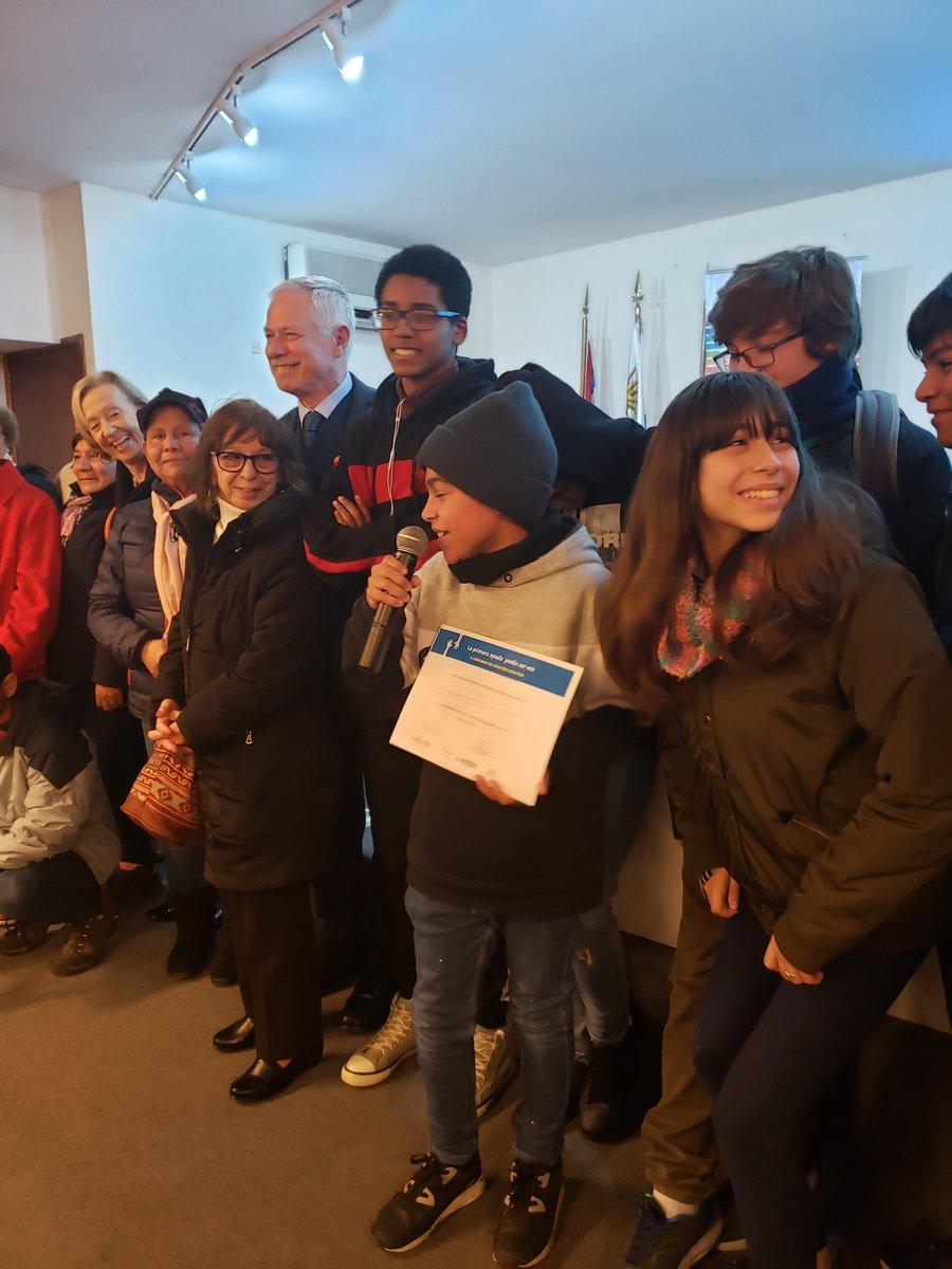 """📢 """"Escuadrón anti suicidio"""" así se llamó el  proyecto ganador del Club de niños Rambla Francia de #INAU  y se van de viaje!!!"""