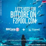 Image for the Tweet beginning: Let's vote for @Bitcore_BTX on