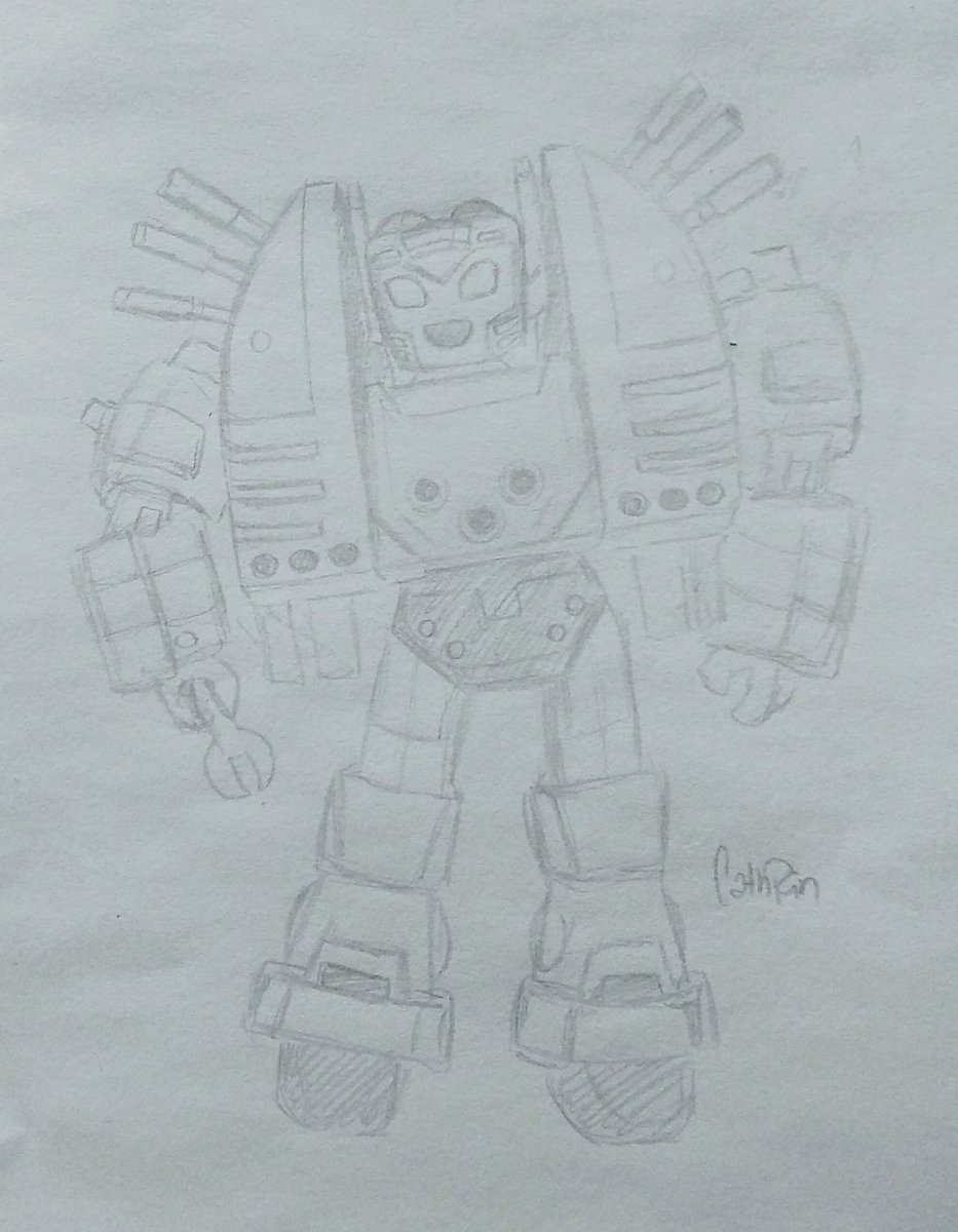 Rough Sketch | The overly cute Nickel #transformers #fanart