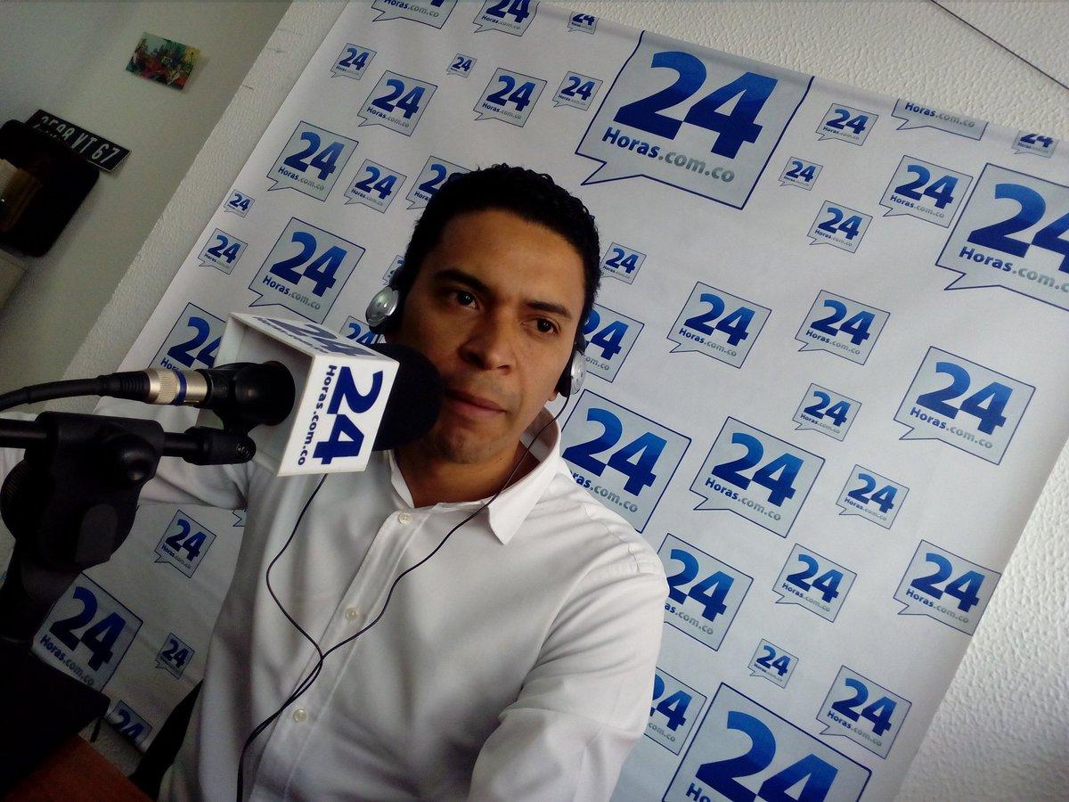 @Jaime_Moron Edil de la Localidad de Suba confirma a través de los micrófonos de @24horasradioo sus aspiraciones al Concejo de Bogotá en la próxima contienda electoral.... @Diego_Molano #suba #bogota #concejo #edil