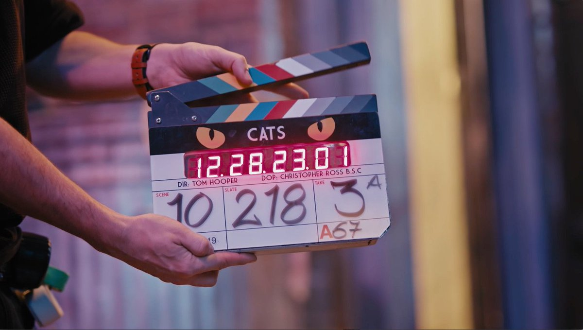 Go behind the scenes for a first look at @catsmovie. Trailer this Friday. #CatsMovie