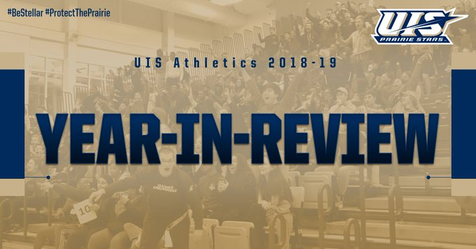 RT @UISAthletics: The University of Illinois Springfield raised the bar for its athletics department again in 2018-19, with competitive suc…