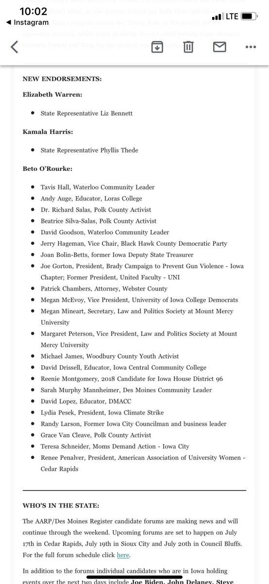 at those new @BetoORourke Iowa endorsements in @IAStartingLine's morning newsletter. #IACaucus #Beto2020<br>http://pic.twitter.com/iusxgGKGVB