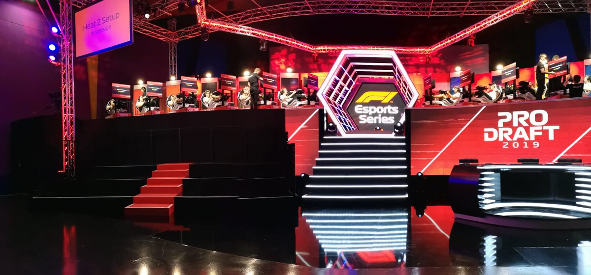 It's almost time.... Draft day for @F1 #Esports! Who will @WilliamsEsports take with pick #4?   #WilliamsEsports