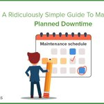 A Ridiculously Simple #Guide To Managing #Planned #Downtime https://t.co/BjtHHGuAxU