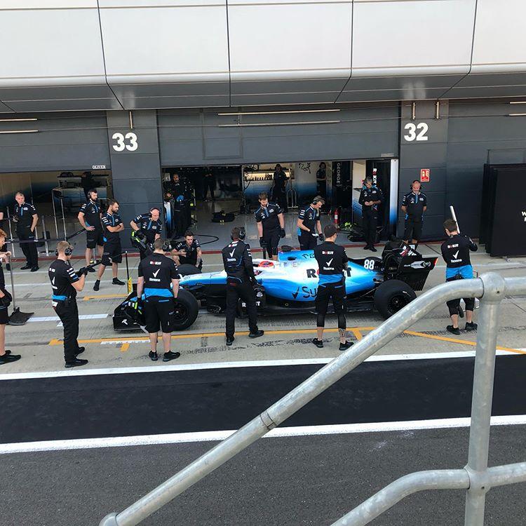 #RK88 @pirellisport 2020 tyre test @WilliamsRacing @PKN_ORLEN fot. Paul Clayton