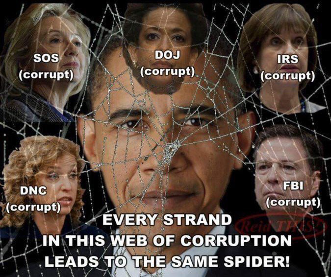 @ChuckCallesto If the DOJ wont arrest ANYONE from the corrupt Obama Administration, dont hold your breath that #StretchPelosi will ever be held accountable.