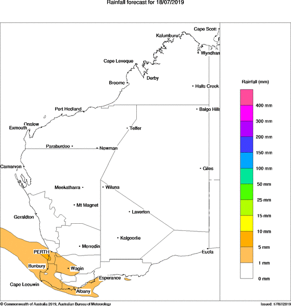 UPDATE: Western Australia: Forecast Rainfall for the next four days http://goo.gl/1JD2My  Click to view.  The latest Rainfall Models from the BOM Henry @Biggy1883
