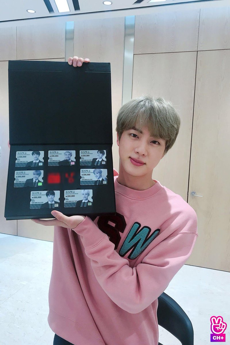 seokjin and his collection of platinum credit cards attached to the fortunes of each of his late husbands