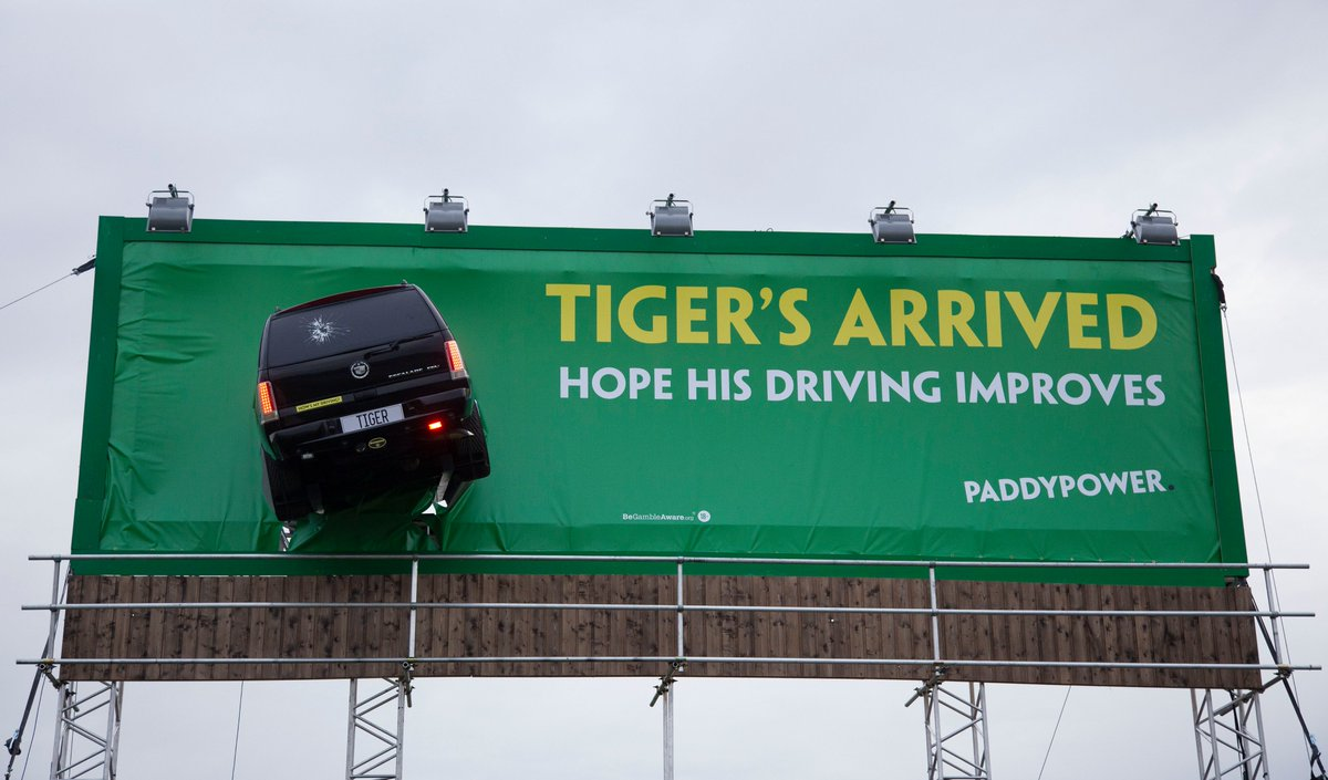 Weve marked the arrival of Tiger Woods to Ireland for #TheOpen in Portrush with a reminder of how far he's come, 10 years on from the worst drive of his life.