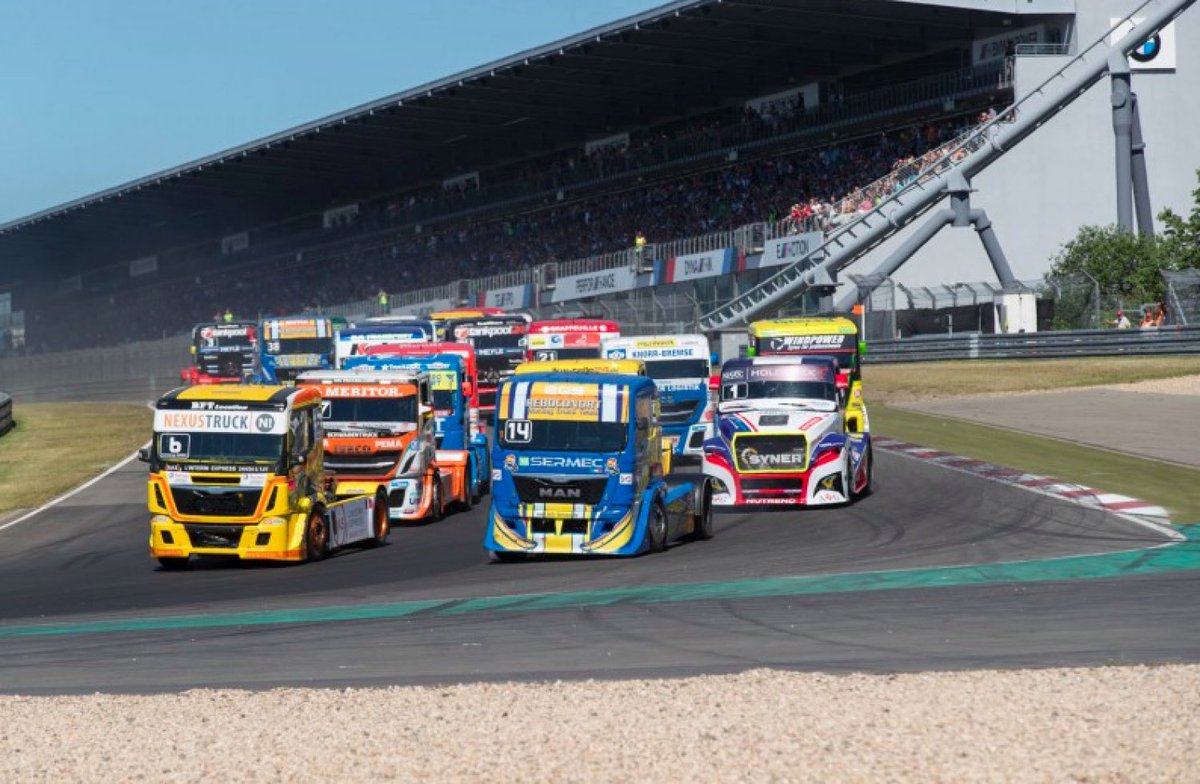Who's ready for the Big One? The ADAC Truck Grand Prix @nuerburgring this weekend? Full preview here - http://fiaetrc.com/news/536/nurburgring-preview-the-big-one-is-here …! #FIAETRC #onetruckfamily 🇩🇪