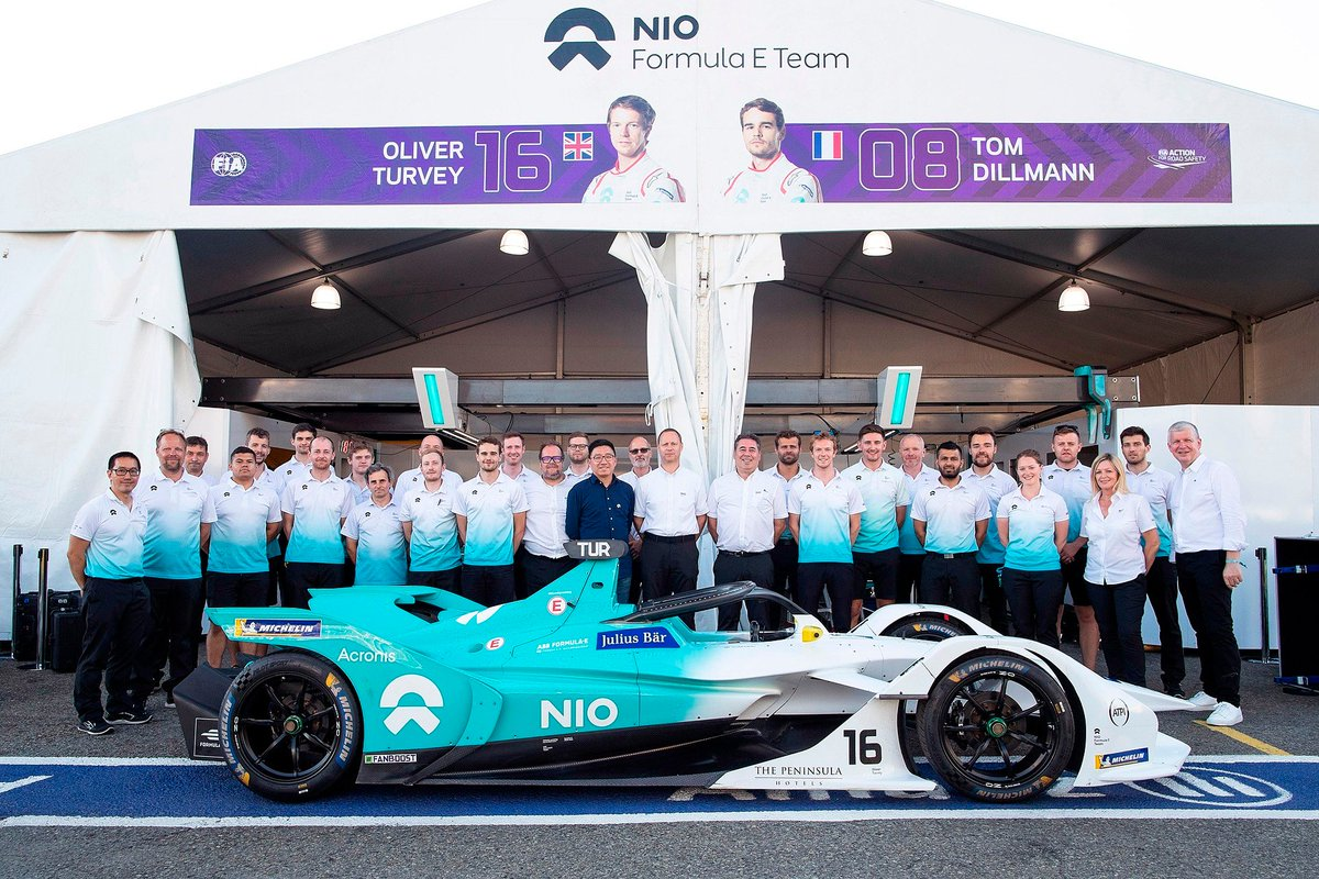 New car, new rules, new circuits - Season 5 has been like no other, and we couldn't have done it without our team.  Thank you to everyone involved with NIO Formula E, and here's to next season!  #NIOFormulaE #BornToPushLimits #AcronisRacing #ABBFormulaE