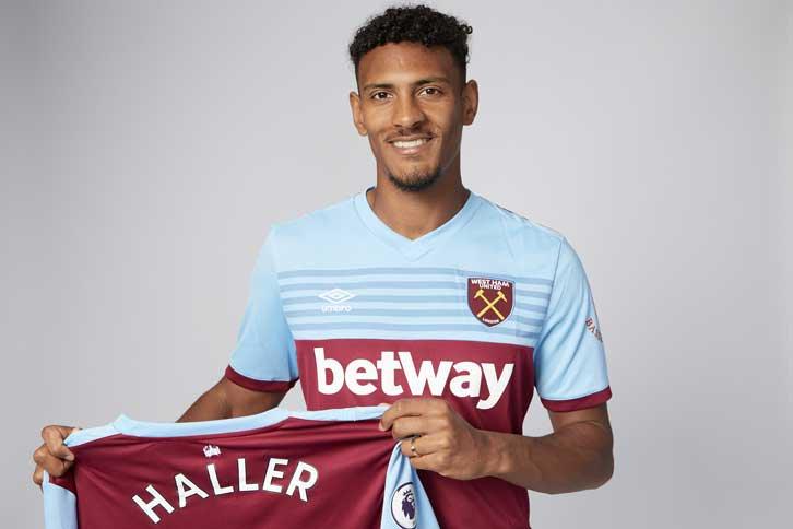Official: West Ham resmi rekrut striker Eintracht Frankfurt Sebastian Haller, 25 Tahun, £45jt.