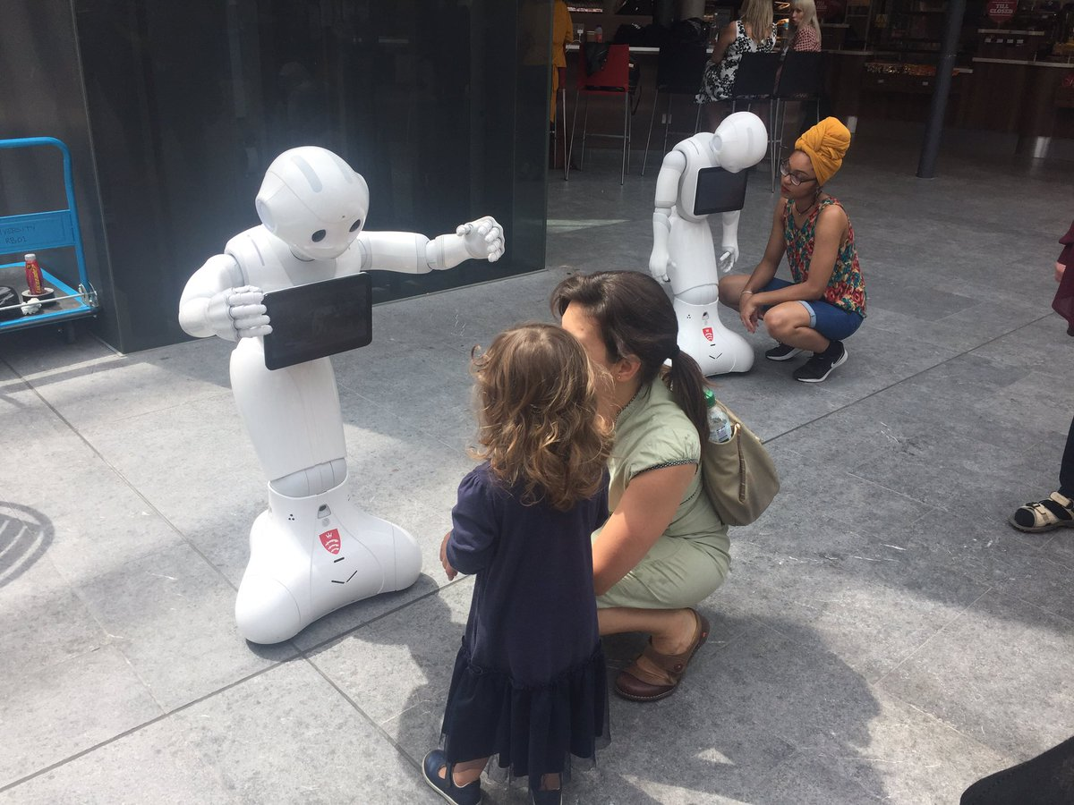 Pepper the compassionate robot