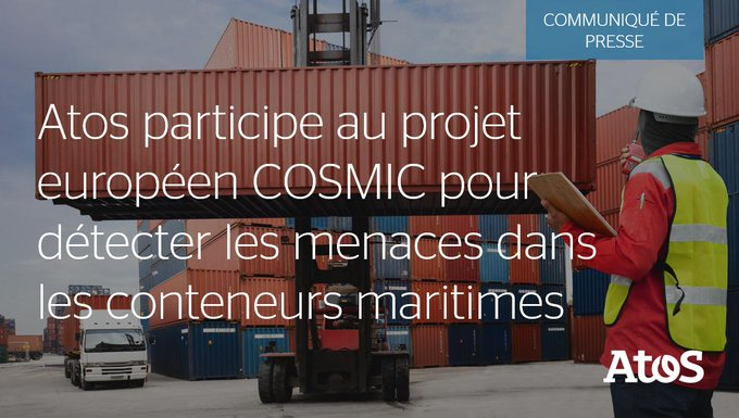 📣 #Atos annonce sa participation au projet européen 🇪🇺 COSMIC qui vise...