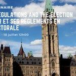 Image for the Tweet beginning: 🚨Our webinar on Advocacy Regulations