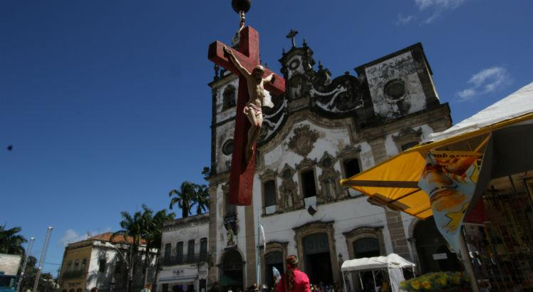 Nossa Senhora do Carmo: igreja terá fachada pintada em 2019