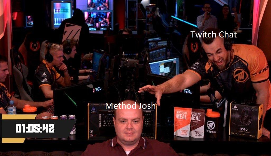 What is @Methodsco reaching out for? Is it his @CORSAIR