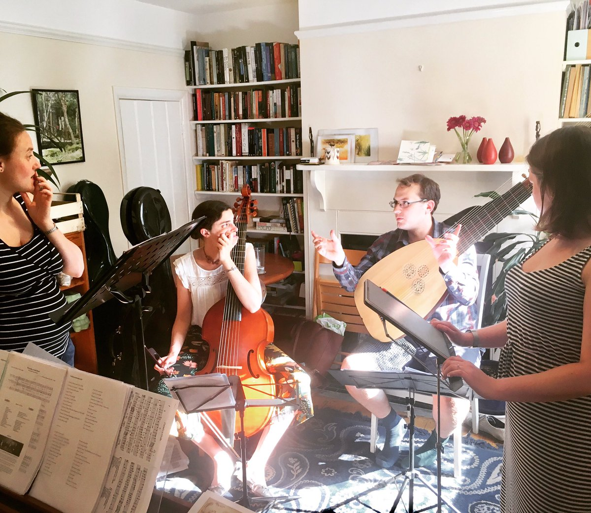 RT @Ceruleo_uk We had a rehearsal🎶yesterday in preparation for the outing✨ of our new programme The Faithful Shepherdess. 🐑🐏🐑🐏🐑  ❤️👫💔 Thursday 25th July 19:30 @cornerHOUSEarts @SurbitonSalons   INFO🎫 https://t.co/Ul5MnigoYT  #WorldEmojisDay #worldemojiday2019 #SurbitonSummerSalons2019