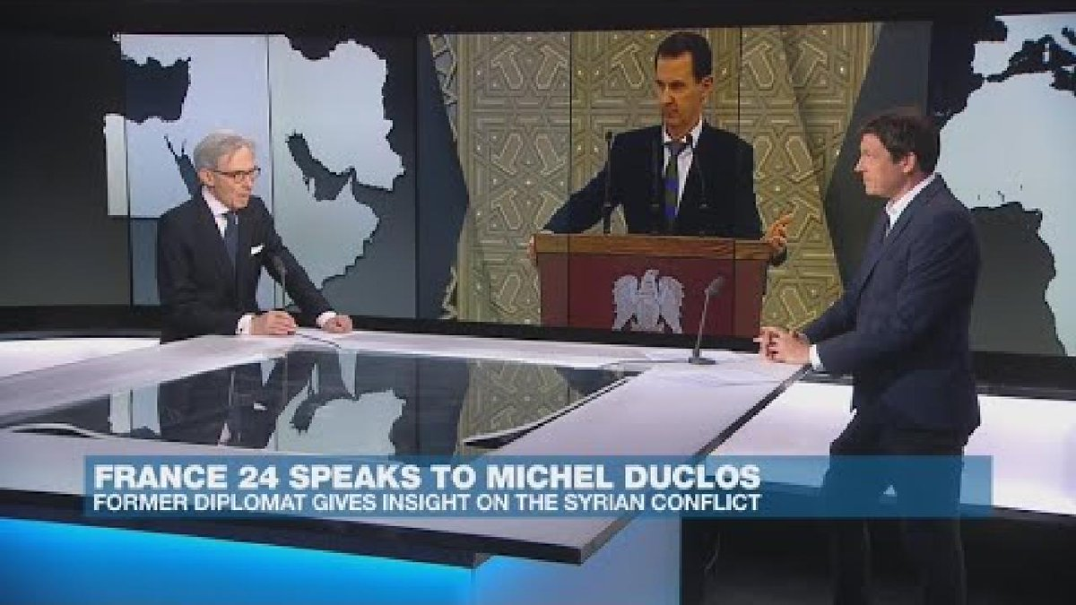 ▶️ Former diplomat gives insight into Syrian conflict f24.my/5FJl.t