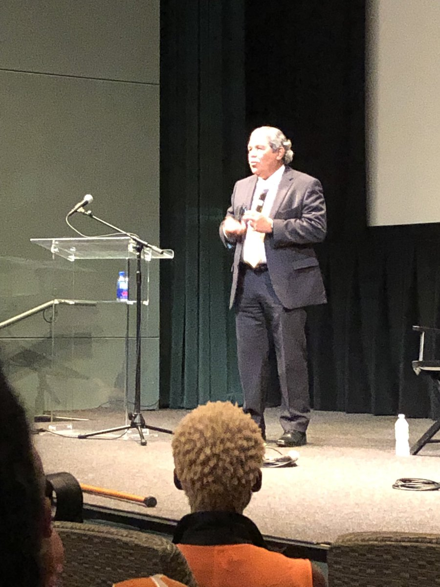 Dr. Michael Hinojosa kicks off the convo about what we value  @NPLINYC #NPLI2019 He values #education and keeps learning and growing.