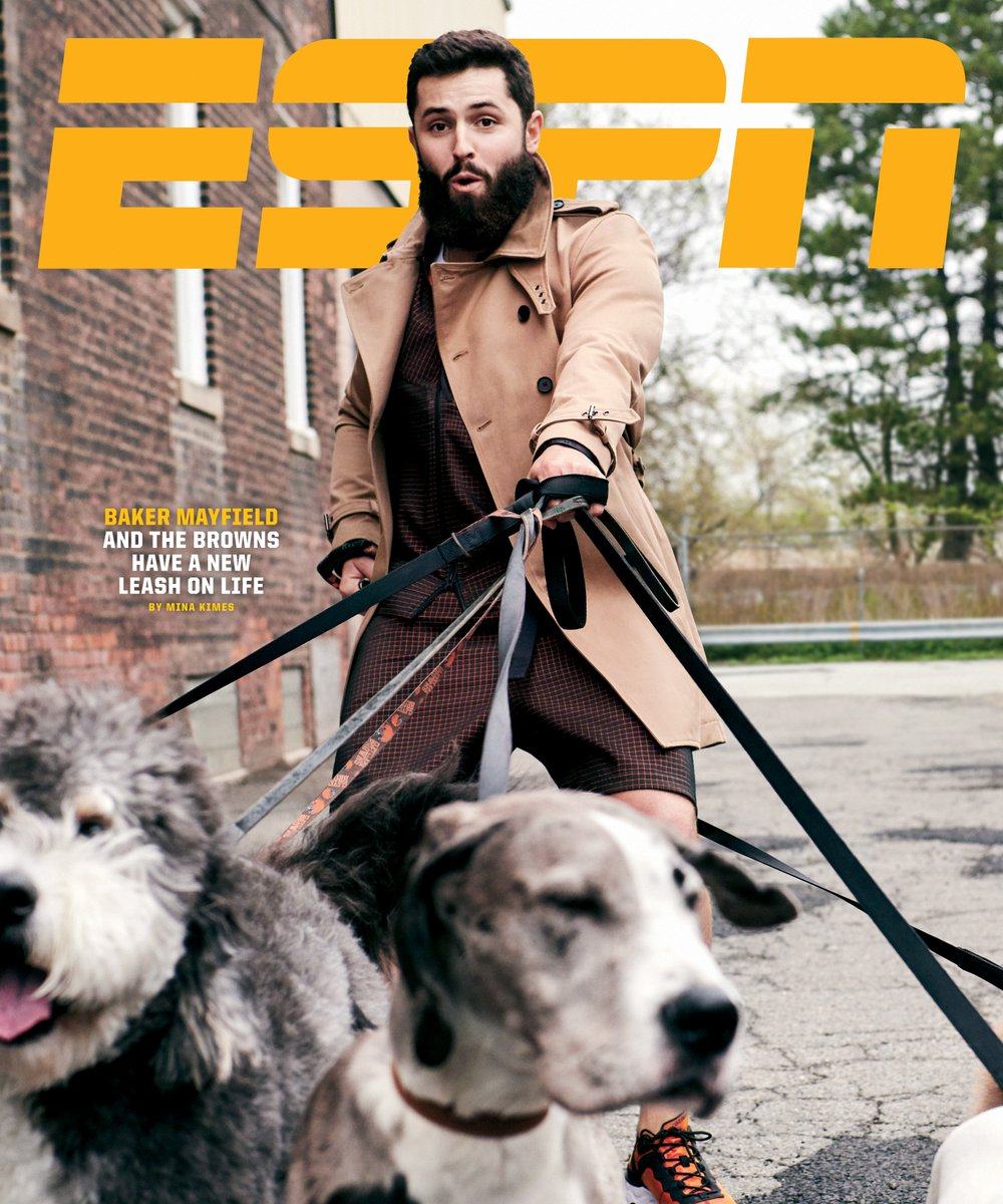 New cover story! I wrote about Baker Mayfield, underdog no more. es.pn/2LY8mbd