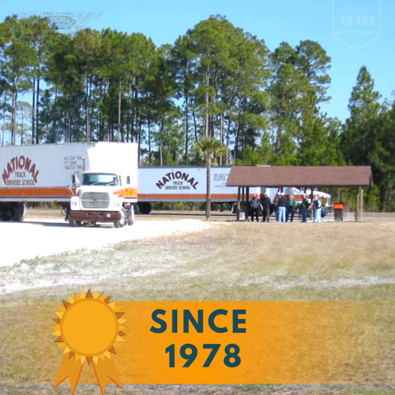 National Truck School has been training safe, quality truck drivers since 1978.  #cdlicense #cdltraining #truckdriving #truckers Professional Truck Driver Training  Call: 800-488-7364/902-272-4000 http://ow.ly/WAkF30ojpy7