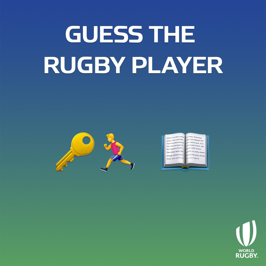 test Twitter Media - For #WorldEmojiDay, we thought we'd test your knowledge with a few translation tests...  How quickly can you decode this one? 🏉🤔 https://t.co/dAyTg5rFHh
