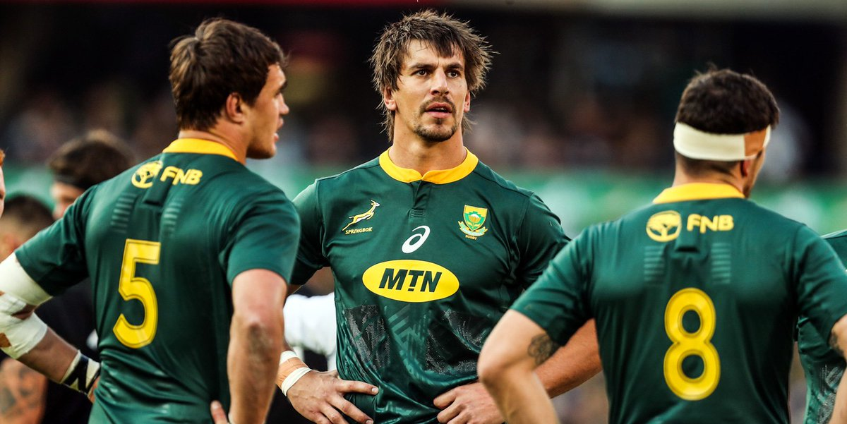 BREAKING: Springbok team for Wallaby Test announced. 🇿🇦 🏉 New captain and three uncapped players to face Australia.  🗣 Read what Rassie Erasmus said about the match. 📊 Get the latest stats and facts here.  🔗 https://bit.ly/2GaWHSD  #StrongerTogether @Official_Bozza