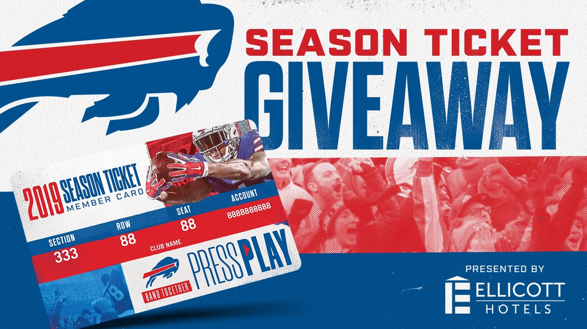 Here's your chance to win club season tickets! Enter here: bufbills.co/PtsN3j