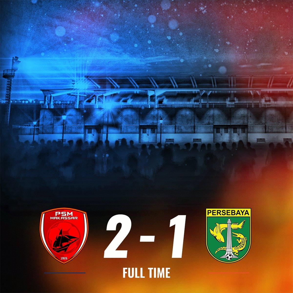 Hasil PSM Makassar vs Persebaya