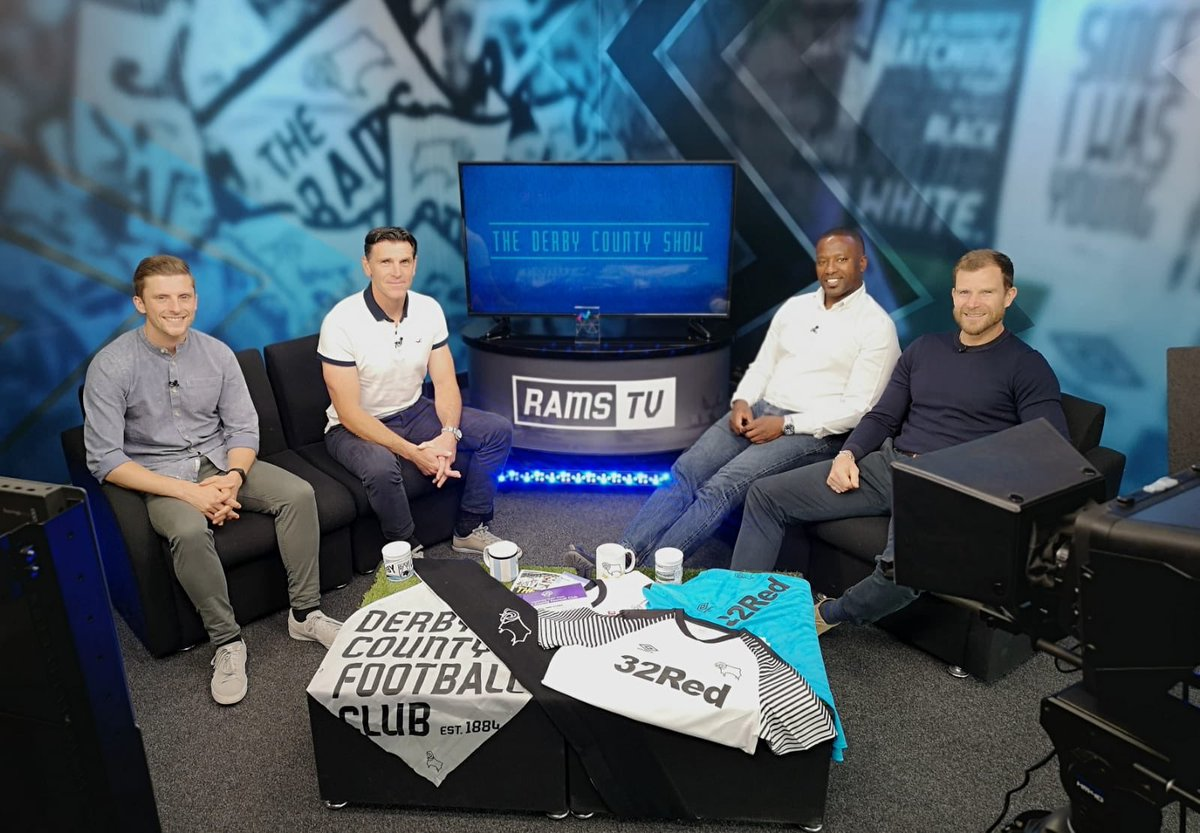 New season, new studio, new show! Join us for episode one of the Derby County Show, tonight from 6pm on RamsTV! 🎥📺 #dcfcfans🐏