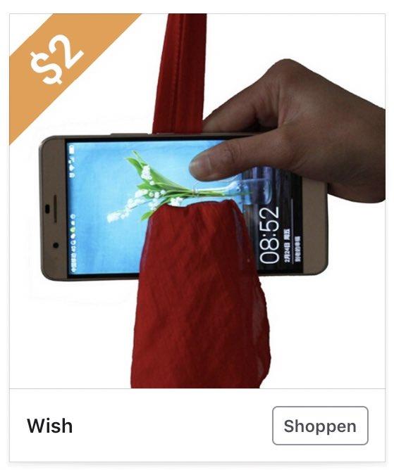 test Twitter Media - Hier heb je een doek die dwars door je telefoonbeeldscherm kan? Of is dit een soort aerial yoga maar dan voor smartphones? https://t.co/MkfXZIOZgB