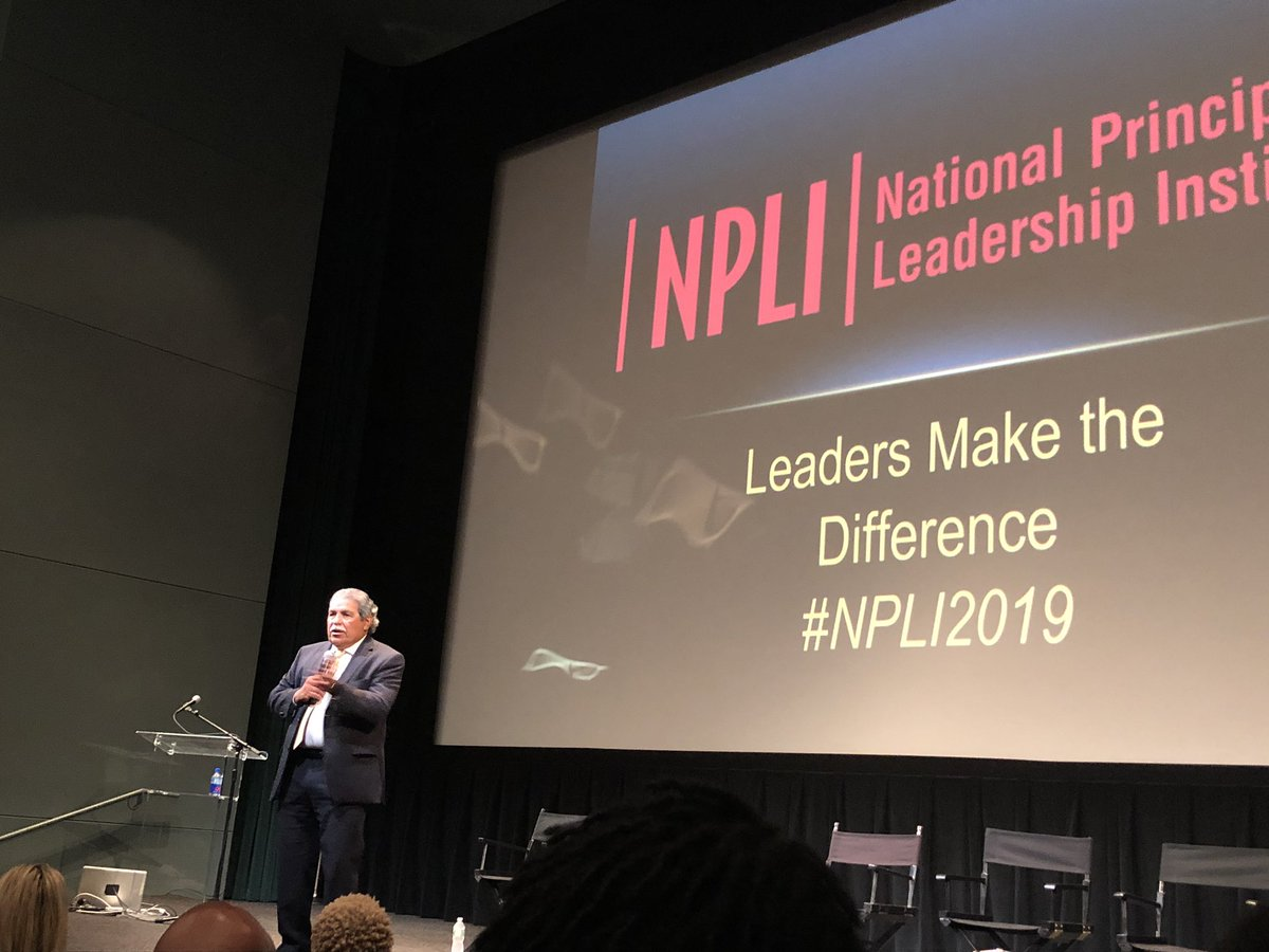Supt. Hinojosa leads from an #abundance perspective, not a deficit mentality. Great things are happening in @dallasschools He's an Inspiring Leader @NPLINYC #NPLI2019 Looking to the future with hope and aspiration