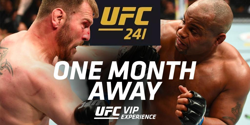 The rematch is coming 👊  Secure your access to @ufc 241 > https://hubs.ly/H0jM3W90   #UFCVIP #UFC241