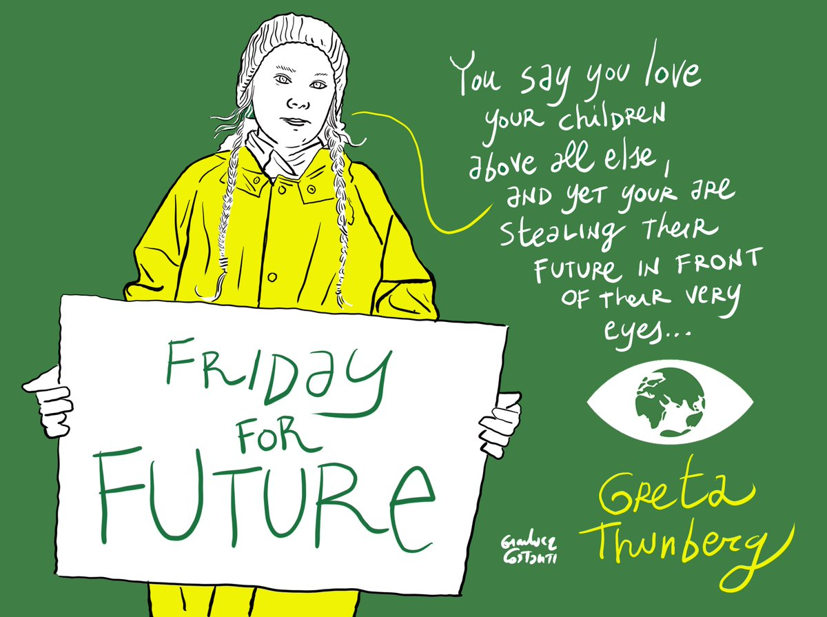 Strong words from #climate warrior @GretaThunberg