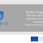 Image for the Tweet beginning: 💧@STOPIT_Project brings together a strong