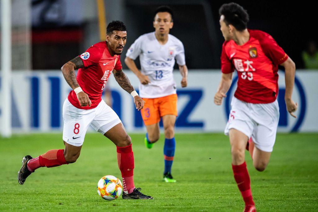 Paulinho: Last 7 Chinese Super League apps 🆚 Henan Jianye ⚽️ 🆚 Shanghai SIPG FC ⚽️⚽️⭐️ 🆚 Hebei CFFC 🅰️ 🆚 Shanghai Shenhua 🅰️ 🆚 Tianjin Tianhai ⚽️⭐️ 🆚 Tianjin Teda ⚽️⭐️ 🆚 Dalian Yifang ⚽️⚽️⚽️⭐️ For more player stats -- whoscored.com/Players/36399/…