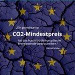 Wenn wir die europäische Energiewende erreichen wollen, brauchen wir endlich einen #CO2Mindestpreis im Stromsektor! Morgen tagt das #Klimakabinett und wir fordern endlich Taten und zügige Gespräche mit unseren europäischen Nachbarn! https://t.co/atGDHtJ03B