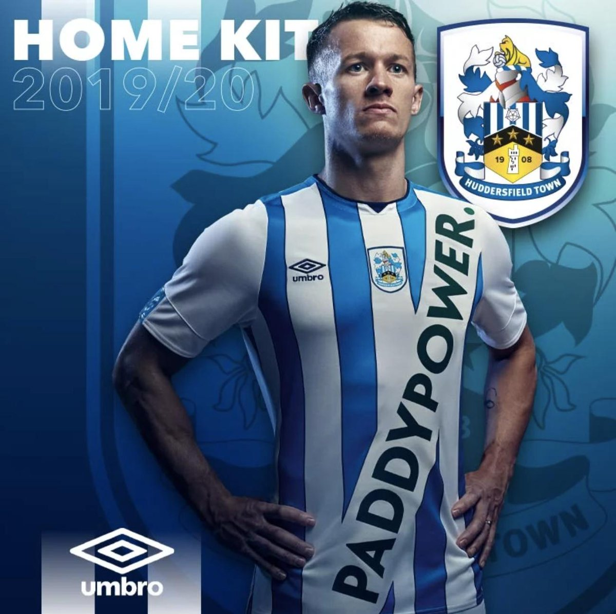 Huddersfields new kit is nothing compared to Man Uniteds new one 🤣😂