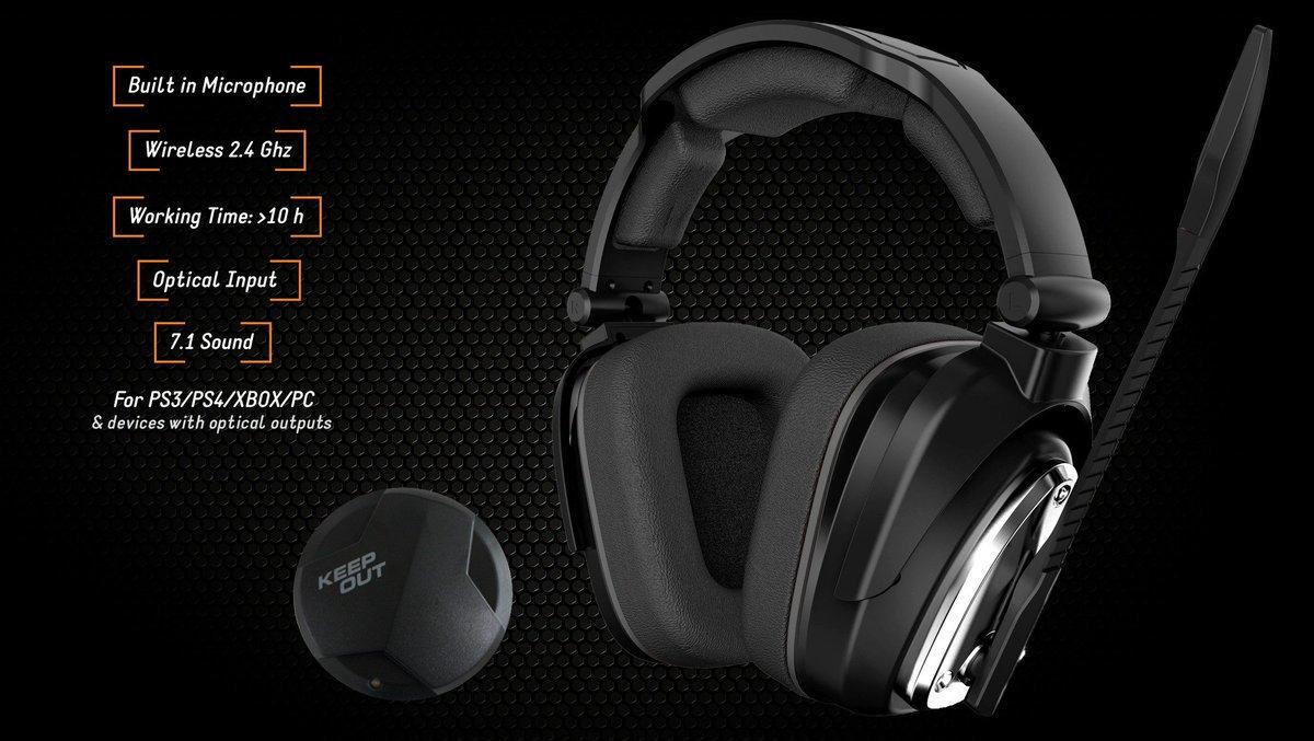 Rendimiento sonoro profesional en #juegos. #Microfono con la última #tecnologia ofreciendo una comunicación excelente con el máximo realismo en el juego. Para #gamers exigentes!! ;)  Descubre lo último en #headsets con el nuevo HXAIR 🕺👽👾🤖 http://keep-out.eu/headset/HXAIR