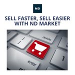 Image for the Tweet beginning: The ND MARKET online trading