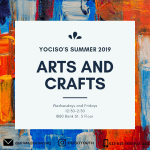 Image for the Tweet beginning: YOCISO Arts and Crafts is