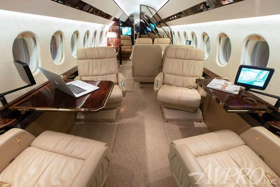 This 2004 #DassaultFalcon 900EX EASy for sale by @AvproJets has had just One U.S. Corporate Owner Since New and offers Advanced Navigation.  For more info and images click here http://ow.ly/hZNd50v2GBv #jetsforsale