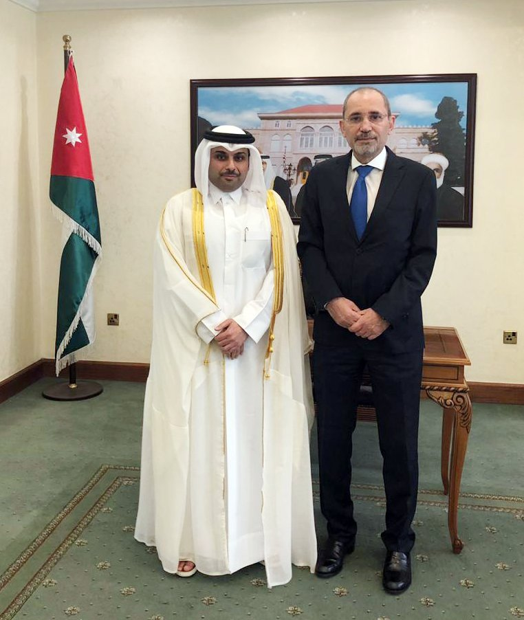 Deputy Prime Minister and Minister of Foreign Affairs @MBA_AlThani_ Sends Written Message to Jordanian Foreign Minister bit.ly/2JRbcfc #MOFAQatar