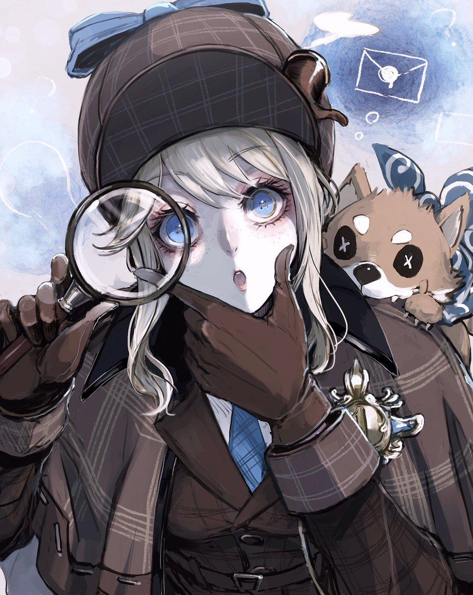 💙🔍探偵チャンエマ🔍💙